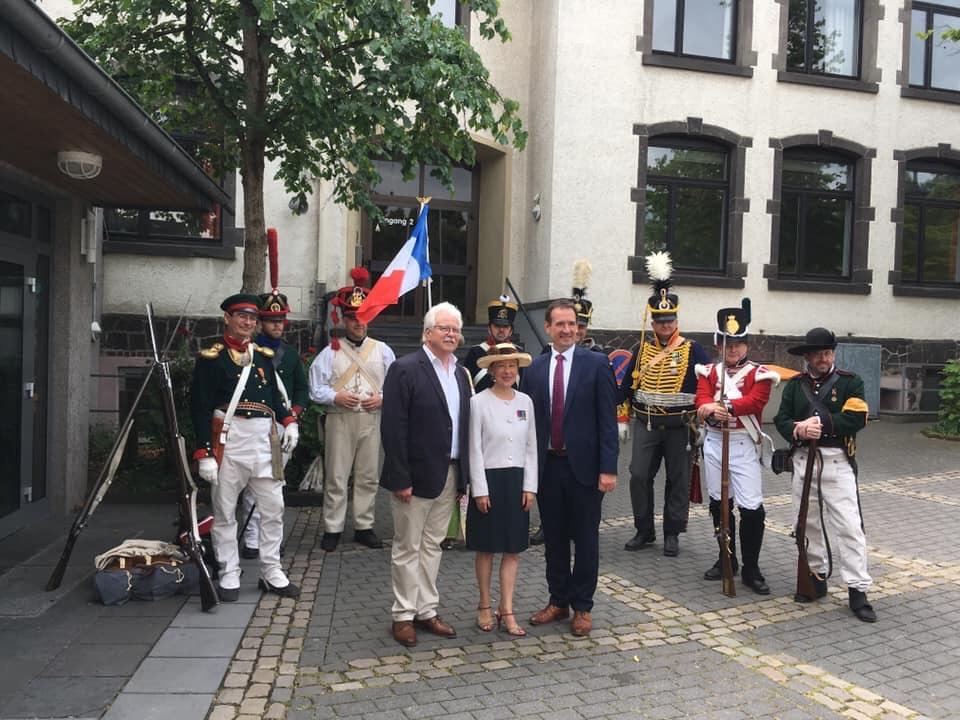 100 Jahre Beisetzung von General Hoche gefeiert
